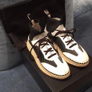 Alexander Wang Dakota Knit Sneaker Espadrille.